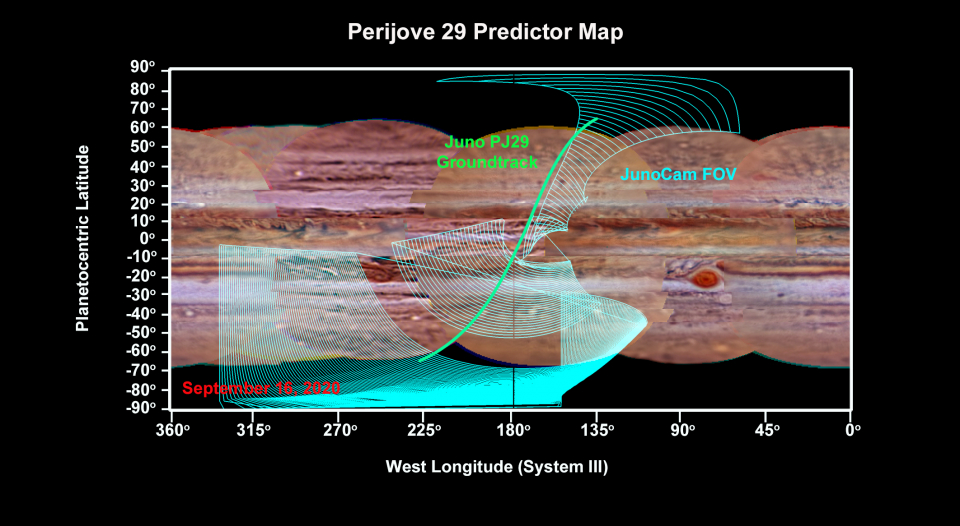 PJ29 Predictor Map with JunoCam FOV